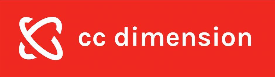 Logo CC Dimension ontwerpbureau
