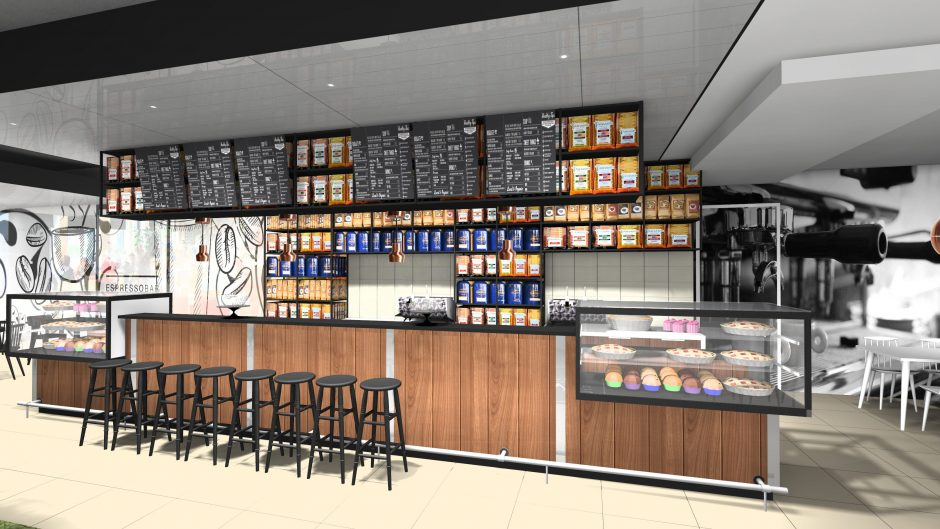 koffie concept ontwerp bar