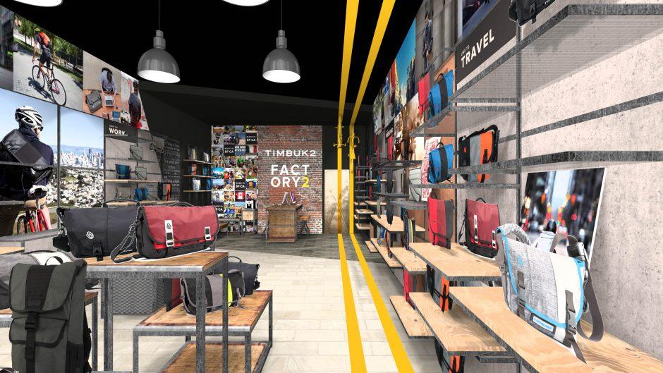 tassen winkel ontwerp brandstore ijsland