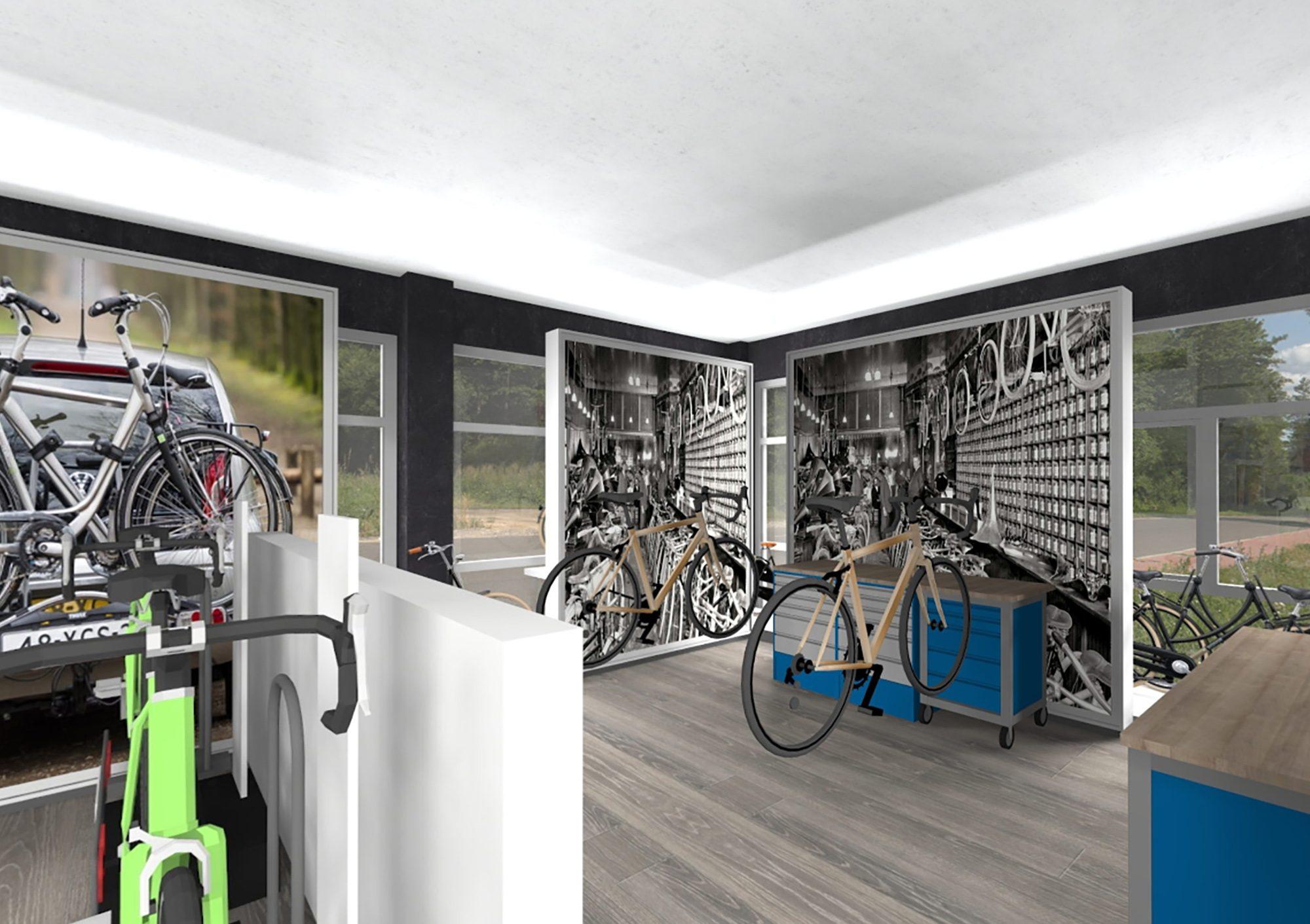 de fietser winkel VR