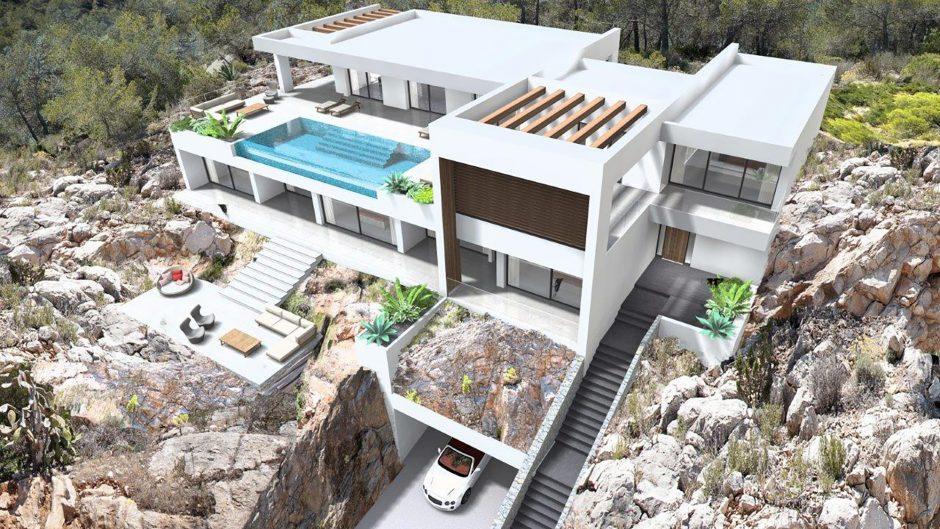 Ibiza villa new