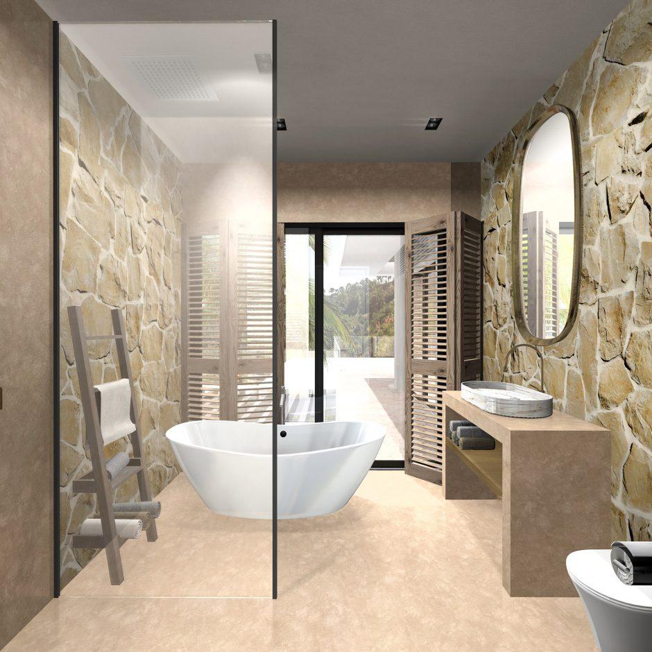 badkamer bathroom 3D