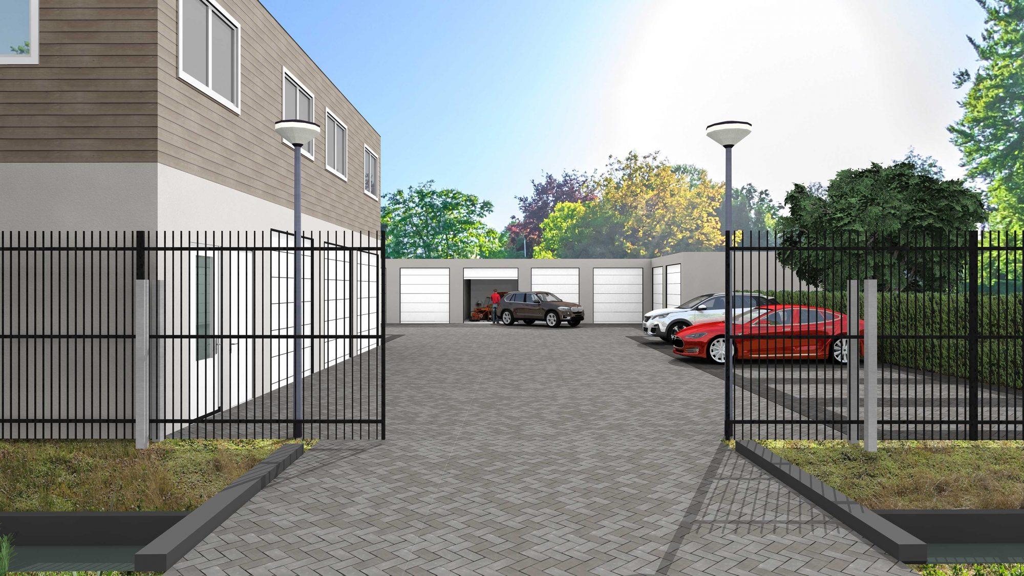 garagebox ontwikkeling 3d
